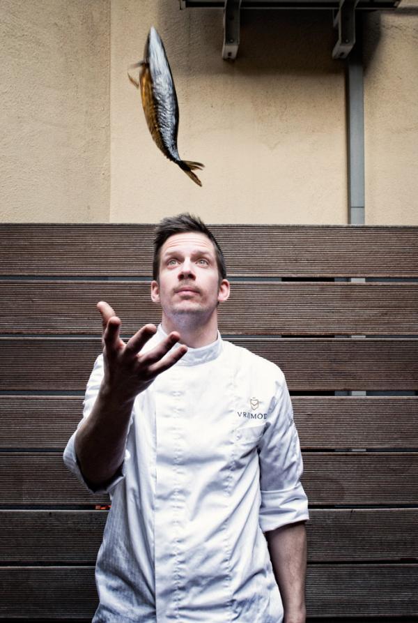 Le chef Michaël Vrijmoed © Michaël Dehaspe