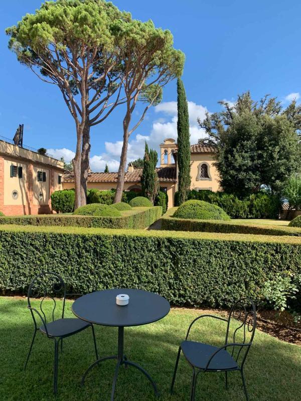 COMO Castello Del Nero | Jardins à l'italienne © YONDER.fr/PG
