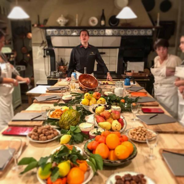 Hôtel La Mirande – Cours de cuisine à La Table Haute © DR