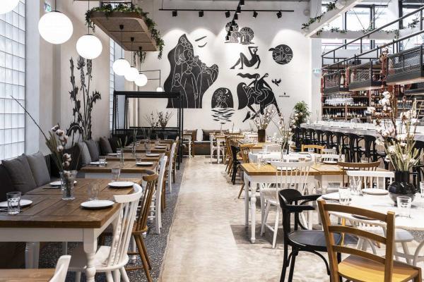 ERGON House Athens - Le restaurant © DR