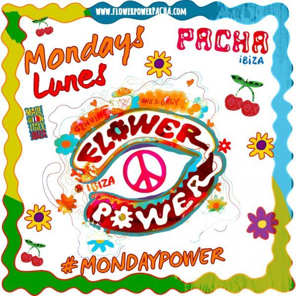 Flower Power au Pacha