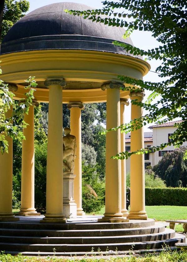 Four Seasons Hotel Firenze | Dans le jardin privé de l'hôtel © MB|YONDER.fr