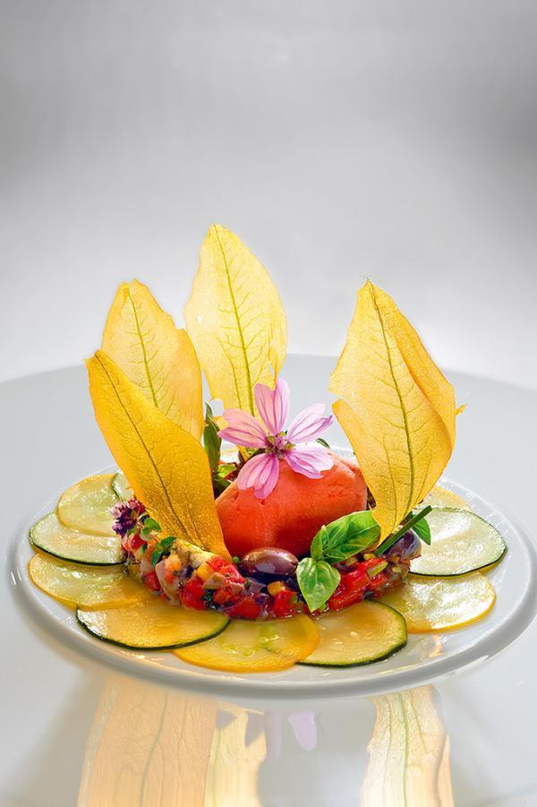 La cuisine de Gilles Goujon © Thuriès Gastronomie Magazine - Pascal Lattes