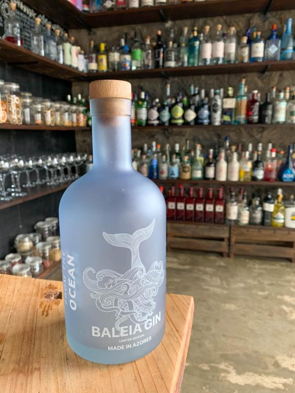 """Le gin Baleia, le troisième gin """"made in Azores"""" © YONDER.fr/PG"""