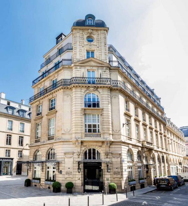 Grand Hôtel du Palais Royal – Façade ©DR