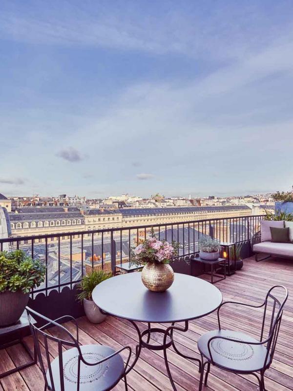 Grand Hôtel du Palais Royal | Terrasse panoramique ©DR