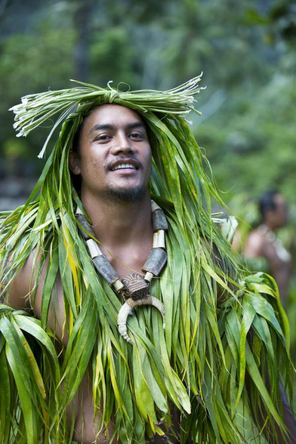 Cérémonie traditionnelle sur Hiva Oa © Tahiti Tourisme