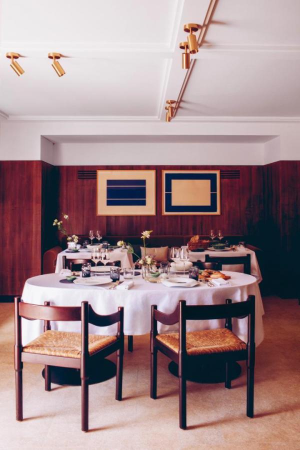 Hôtel Crillon le Brave — restaurant © Hôtel Crillon le Brave