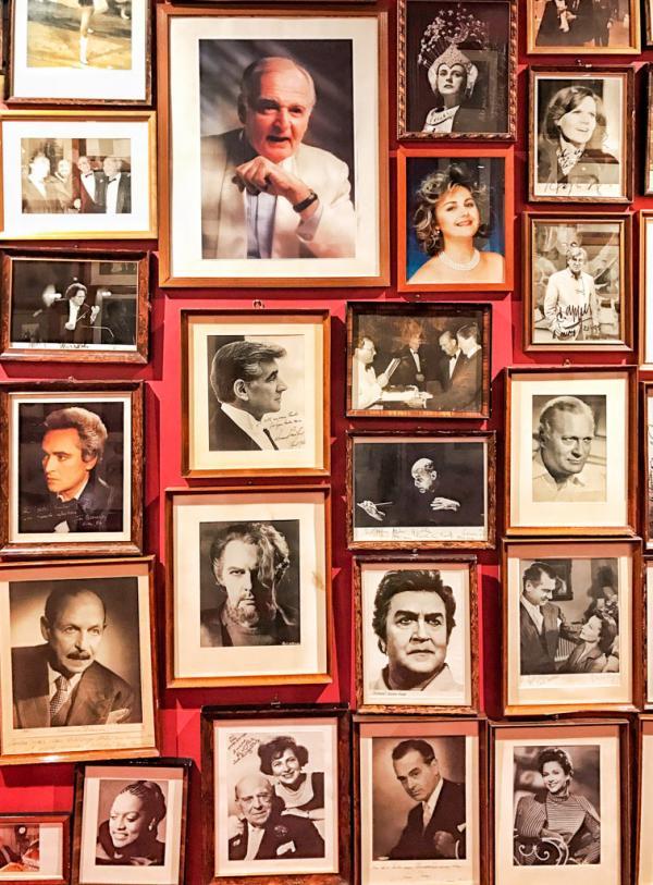 La galerie de portraits des illustres hôtes du Sacher © YONDER.fr