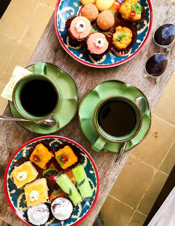 Quart d'heure gourmand : le goûter du Tugu © Camille Weyl