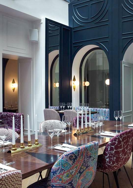 Hôtel Bachaumont – Restaurant © Paul Bowyer