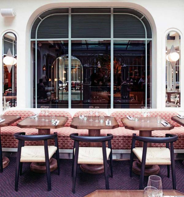 Hôtel des Grands Boulevards – Restaurant © Karel Balas