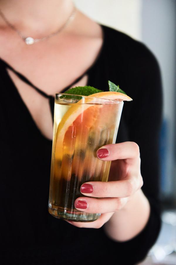 Les cocktails sont également à l'honneur de la carte de Kitchen Ter(re) © Louis Laurent Grandadam
