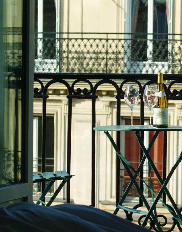 Hôtel Petit Lafayette – Balcon d'une Junior Suite © DR