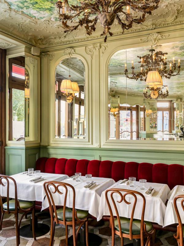 Le Chardenoux | Cyril Lignac - Intérieur du restaurant © Jérôme Galland