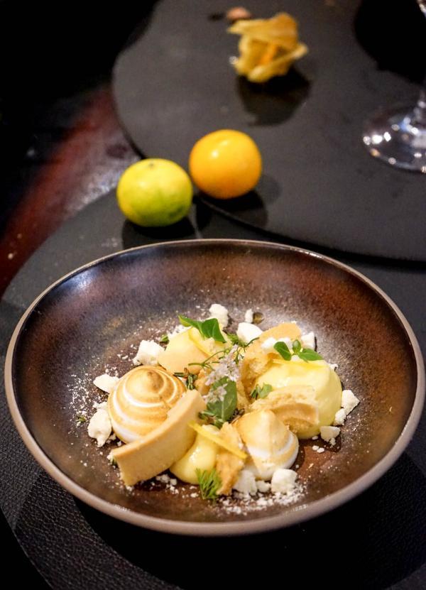 La tartelette au citron inspirée par la grand-mère de Juan Arbelaez © YONDER.fr