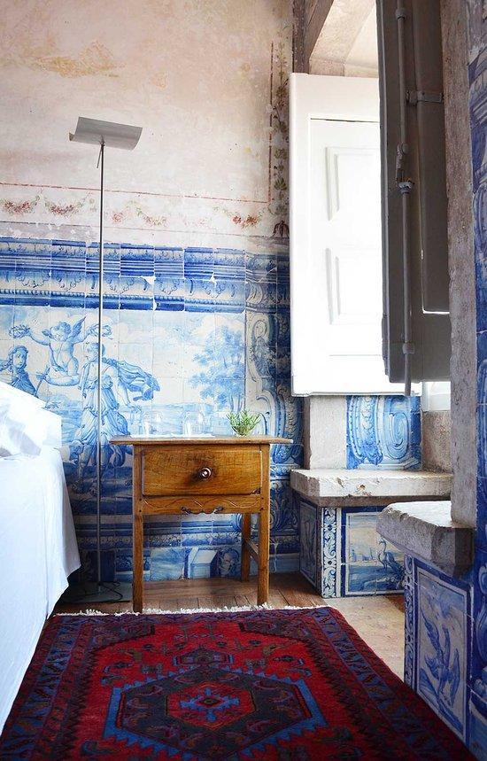 Les murs du Palacio Belmonte sont habillés de magnifiques azulejos.