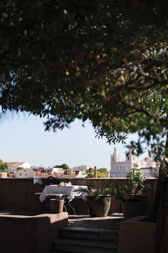 Vue panoramique depuis la terrasse du Palacio Belmonte.
