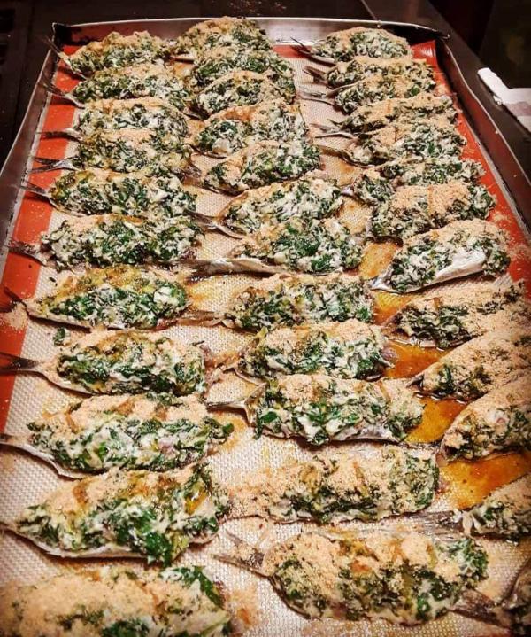 Lou Pistou à Nice — Sardines farcies au blettes © Lou Pistou