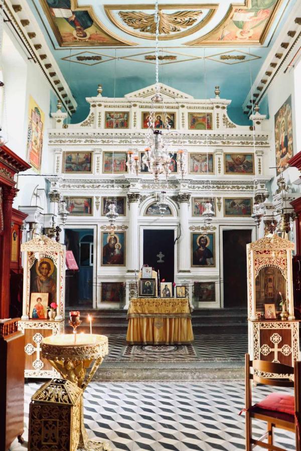 Monastère Paleokastritsa © Pierre Gautrand