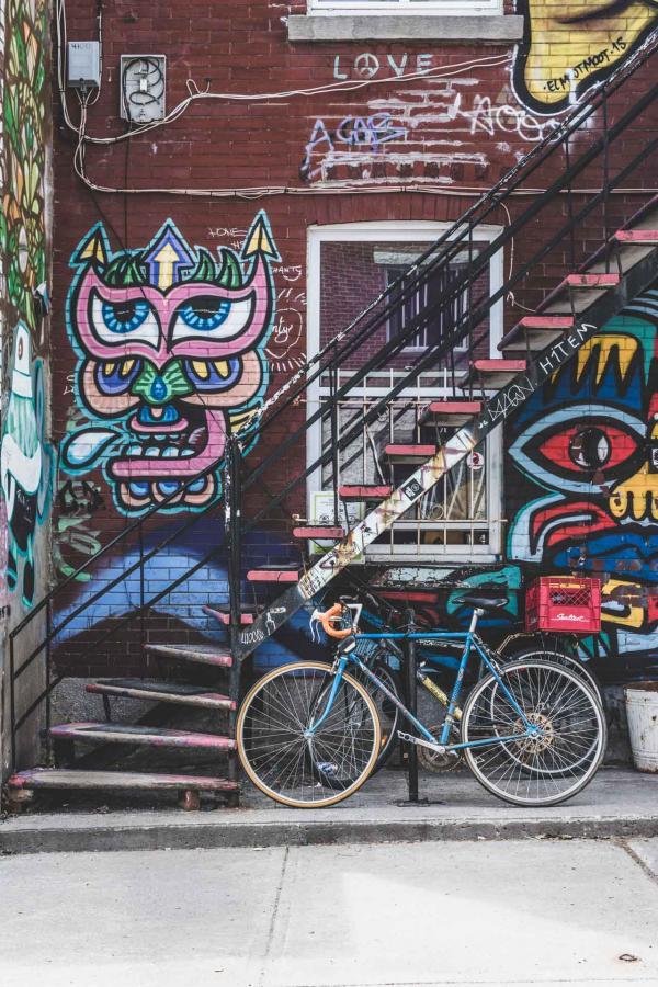 Street art à Montréal © Etienne Delorieux