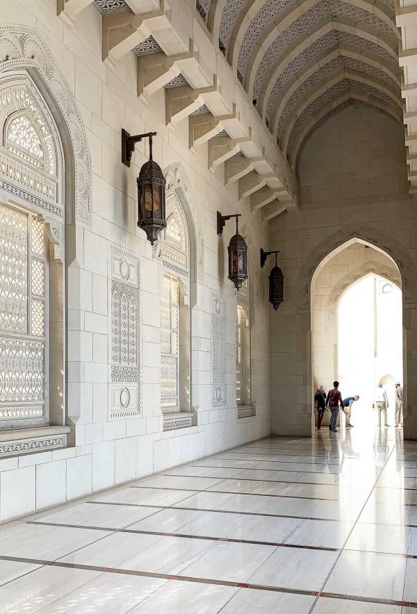 Grande Mosquée du Sultan Qabus à Mascate, la capitale d'Oman © YONDER.fr