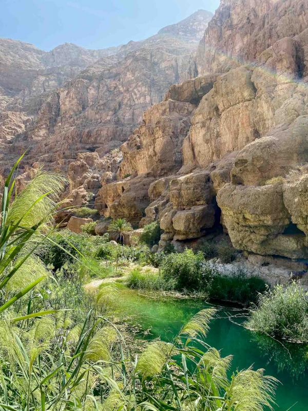 Wadi Shab. © Emmanuel Laveran.