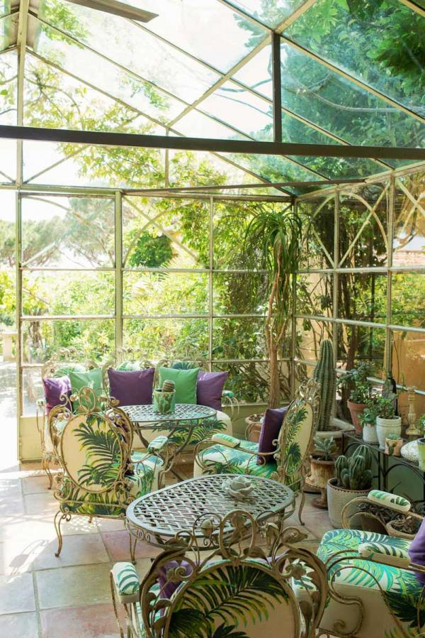 Villa Marie — jardin © David André