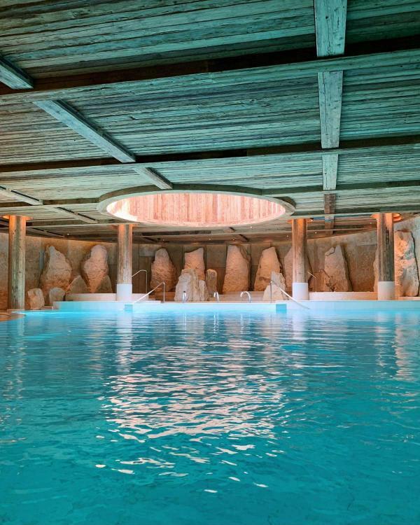 La piscine intérieure de 25 m © YONDER.fr/PG