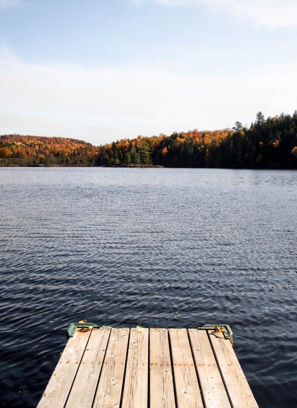 Québec — Lac Blanc © Caroline Mélia / YONDER.fr