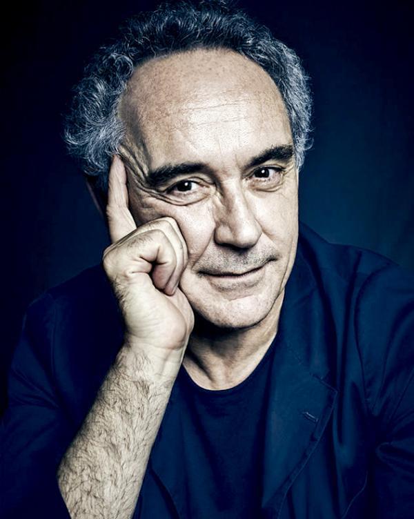 Portrait de Ferran Adrià, le pape de la gastronomie moléculaire, ancien chef d'elBulli © Thinking Head