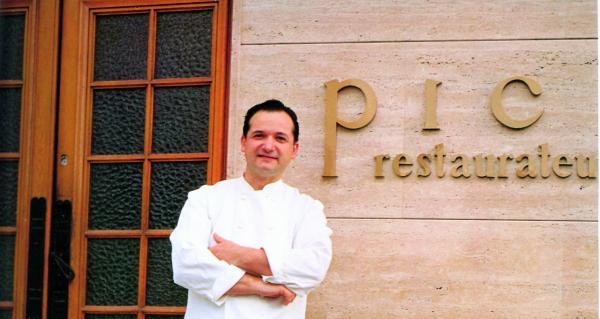 Jacques Pic, le chef triplement étoilé de la Maison Pic à Valence, héros gastronomique de Jean-François Piège dans sa jeunesse © www.anne-sophie-pic.com