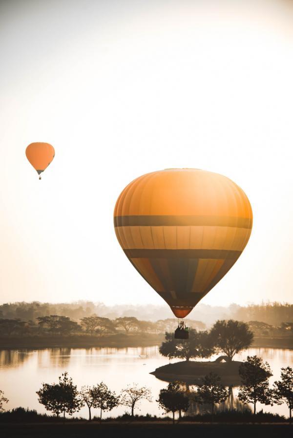 Vol en montgolfière à Chiang Mai © Priyanuch Chiang