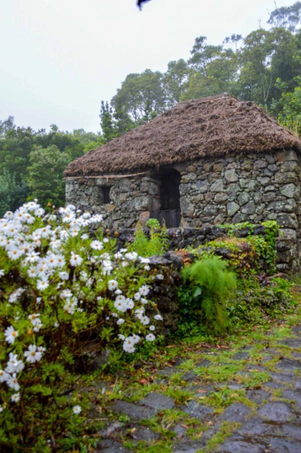 Quinta do Martelo — Habitat traditionnel des Açores des premiers temps de la colonisation © YONDER.fr/PG