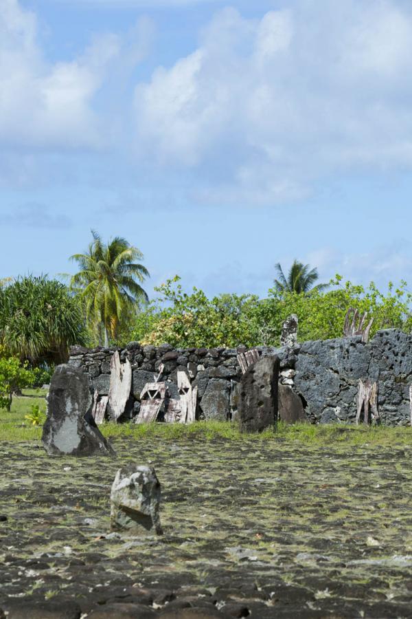 Raiatea avec son marae Taputapuatea classé à l'UNESCO © Tahiti Tourisme