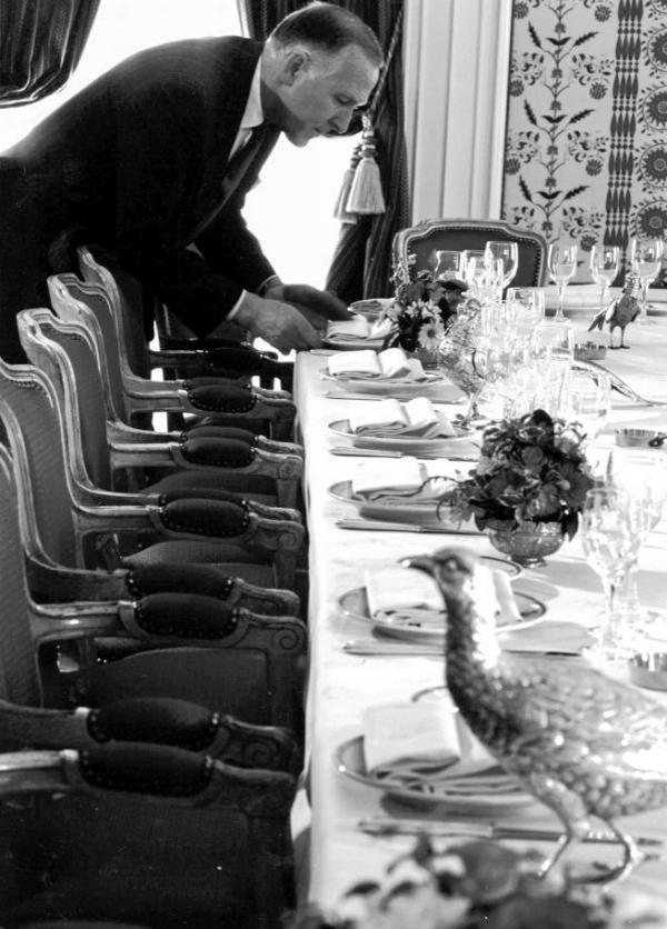 Le restaurant Lasserre à son âge d'or © DR