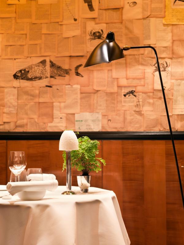 Elégant décor à l'intérieur de la salle à manger © Thomas Duval