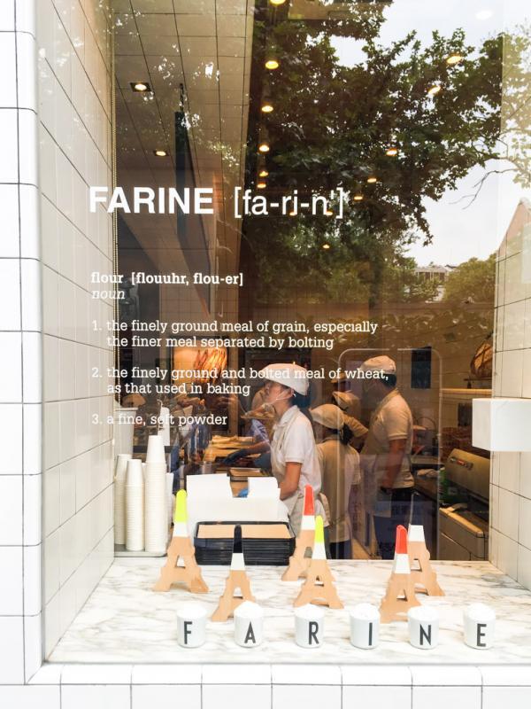 Farine est la boulangerie absolument incontournable de Franck Pécol à Shanghai © Yonder.fr
