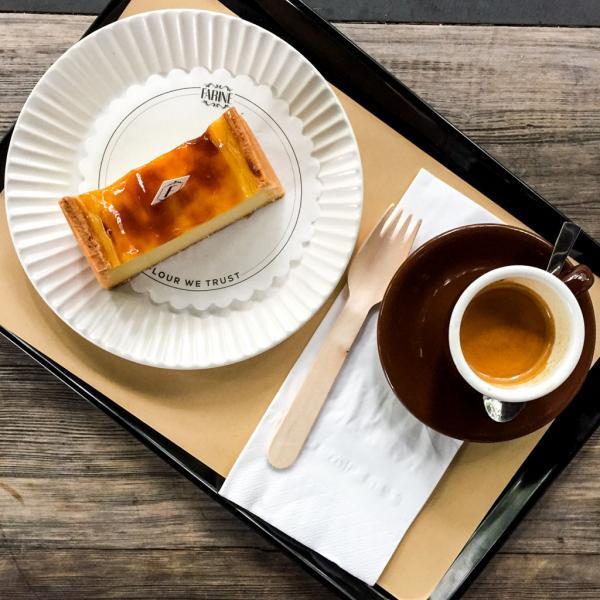 L'ambition de Franck Pécol pour Farine : les meilleures pâtisseries et viennoiseries accompagnées d'excellents cafés © Yonder.fr