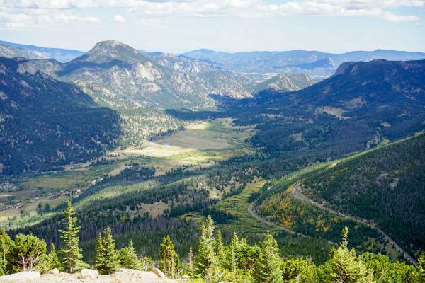La vue depuis Many Parks Curve Overlook © YONDER.fr
