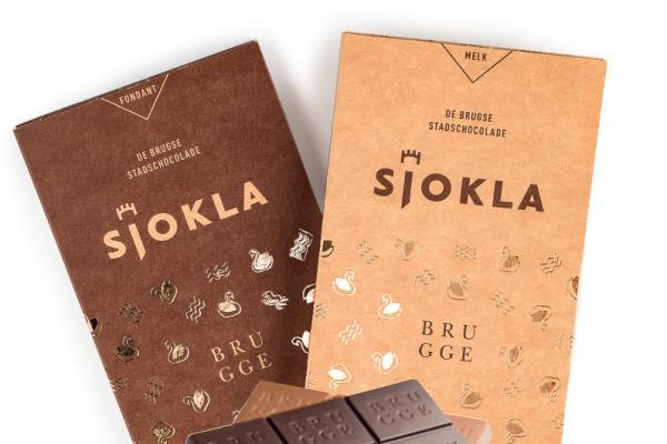 La barre de chocolat équitable Sjokla