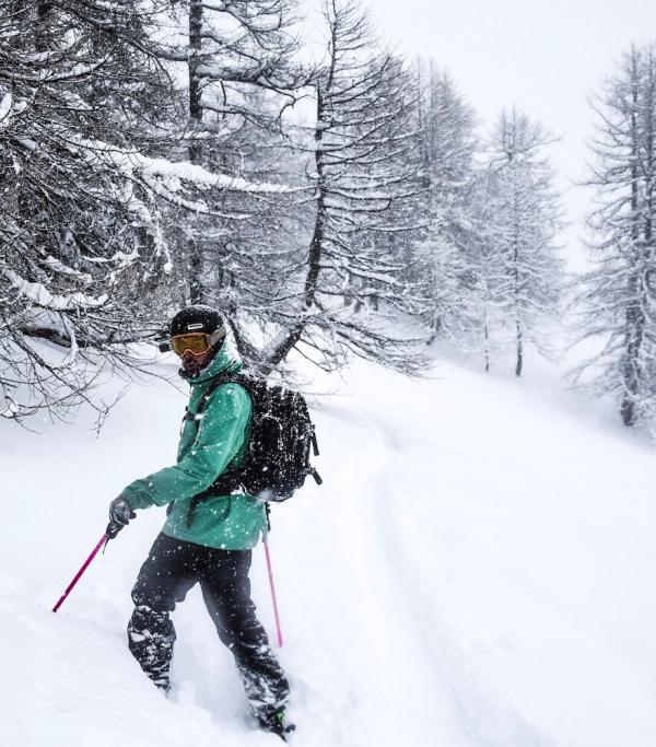 Serre Chevalier ski de randonnée © Serre Chevalier Vallée Briançon - @laurapeythieu