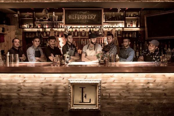 The Clumsies, le bar à cocktails incontournable d'Athènes © DR