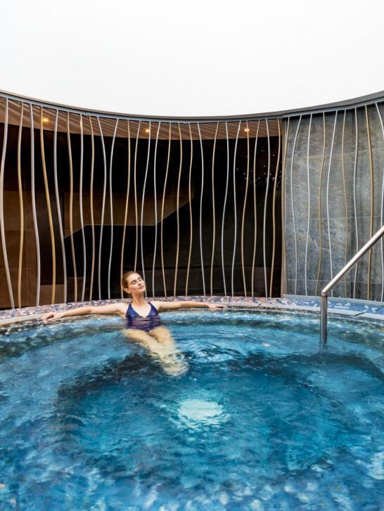 Les Thermes de Saint-Gervais et leur spa thermal des bains du Mont-Blanc vous attendent pour un moment de bien-être © Jérôme Galland