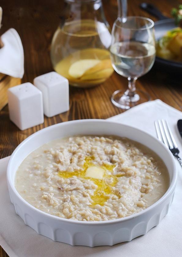 Restaurant Tsirani —Soupe sepas © Restaurant Tsirani