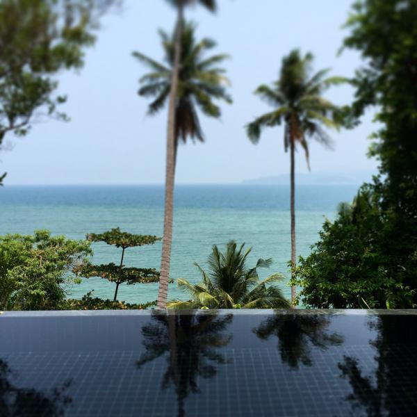 11)Les villas de l'Amanpuri proposent de spectaculaires piscines surplombant la mer | © Yonder.fr