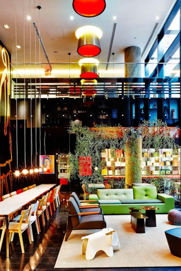 Lobby | © citizenM New York Times Square