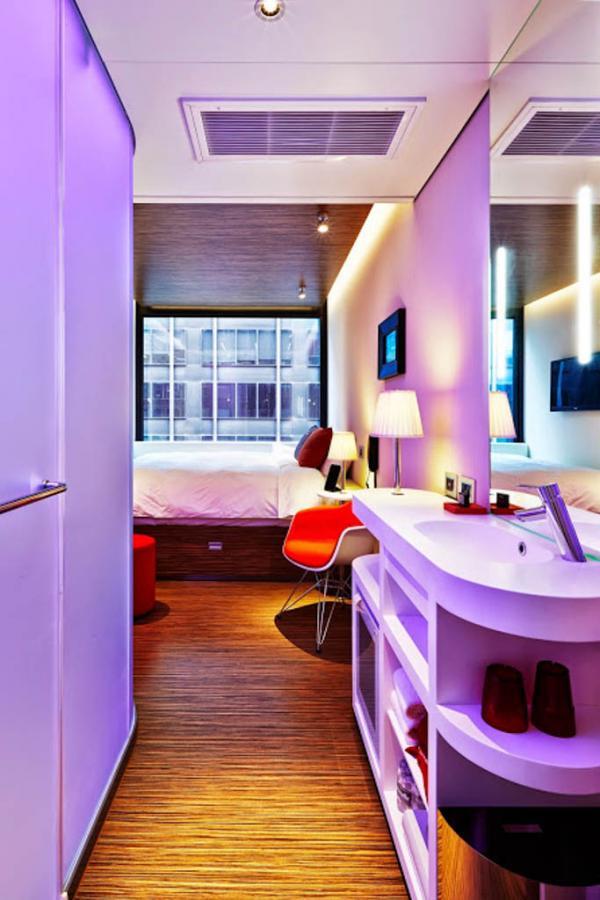 L'une des 230 chambres de l'hôtel | © citizenM New York Times Square