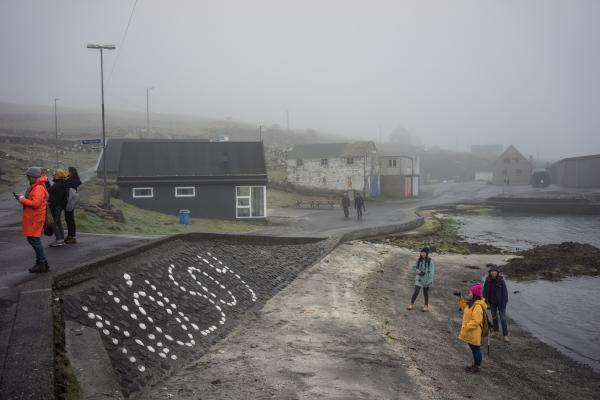 Près du port de Nólsoy.