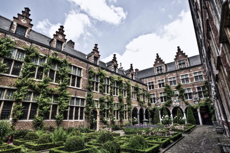 La cour intérieure du Musée Plantin-Moretus à Anvers © Visit Antwerpen